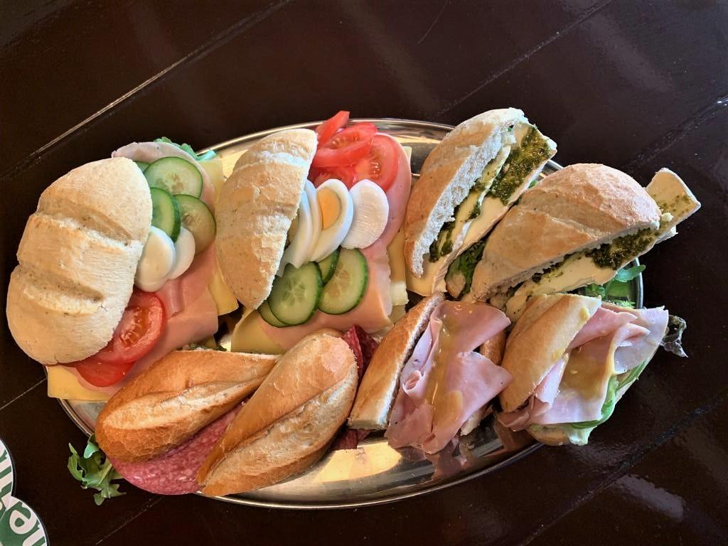 Luxe belegde broodjes